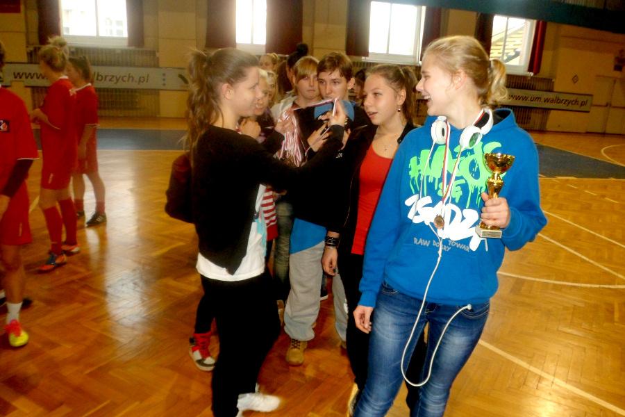Halowa Piłka Nożna Dziewcząt 05.11.2014-3
